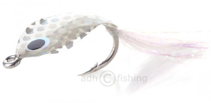 H2O Salzwasserfliege - Rudeboys Wobble Fly Silver