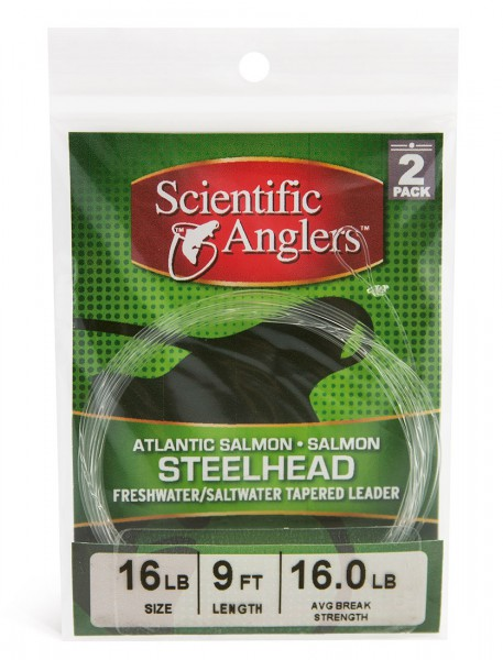 3M Scientific Anglers Salmon Leader 2er Pack