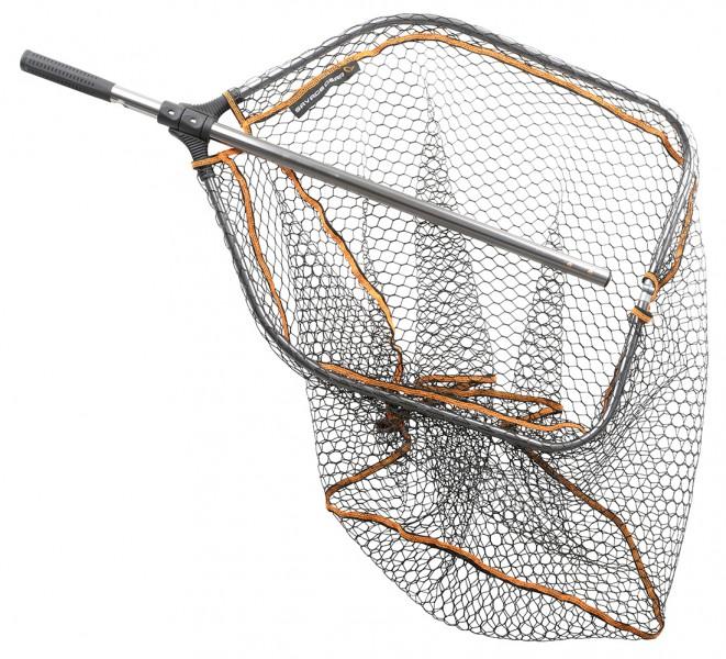 Savage Gear Pro Folding Rubber Mesh Net Teleskop Faltkescher