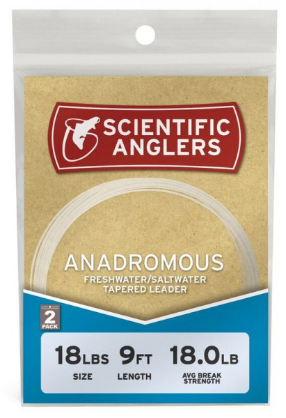 Scientific Anglers Anadromous Leader Lachs- / Steelhead-Vorfach 2er Pack