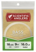 Scientific Anglers Bass Leader Hecht- / Barsch-Vorfach 2er Pack