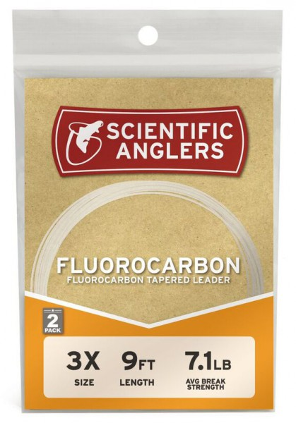 Scientific Anglers Fluorocarbon Leader 2er Pack