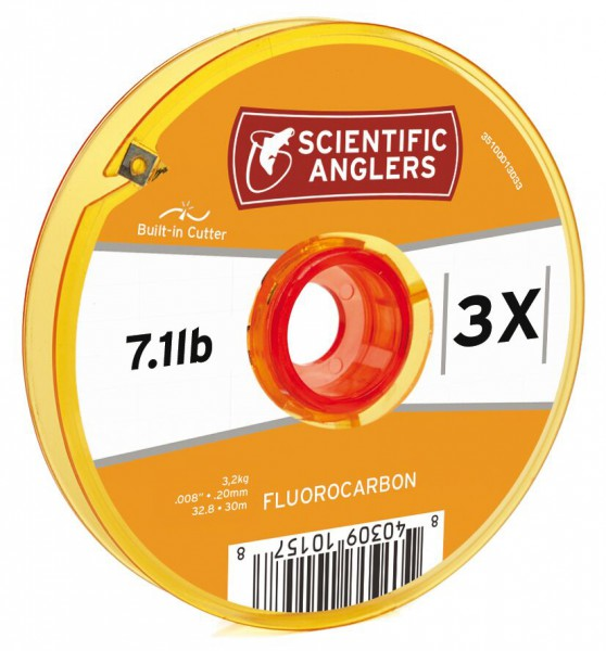 Scientific Anglers Fluorocarbon Tippet auf Spule