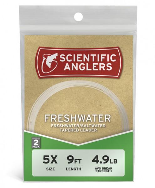 Scientific Anglers Freshwater Leader 2er Pack