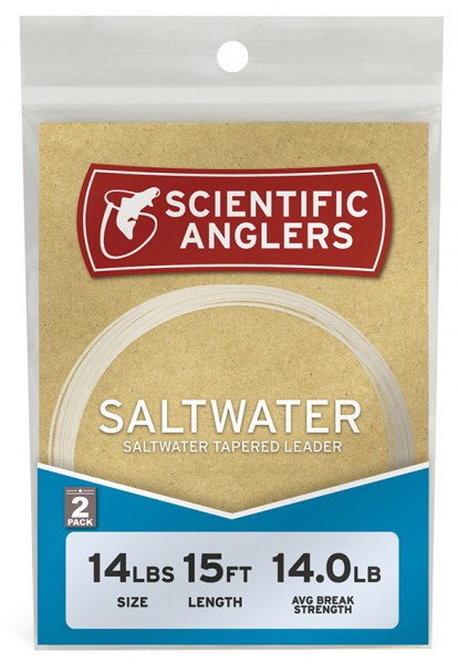 Scientific Anglers Saltwater Leader Salzwasser-Vorfach 2er Pack