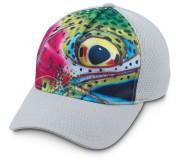 Simms Flexfit Trucker DeYoung Cap Rainbow Trout