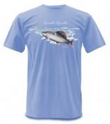 Simms Weiergang SS Tee Grayling Äschen-T-Shirt