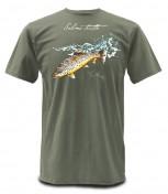 Simms Weiergang SS Tee Trout Forellen-T-Shirt