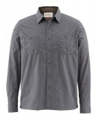 Simms Black's Ford Flannel LS Shirt Hemd