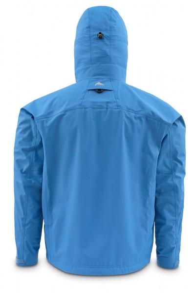 Simms Riffle Watjacke tidal blue