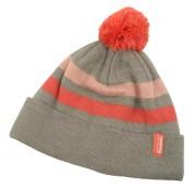 Simms Women's Fleece Lined Pom Hat Beanie mineral