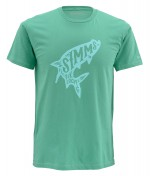 Simms Woodblock Tarpon T-Shirt