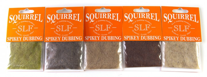 Wapsi SLF Squirrel Spikey Dubbing