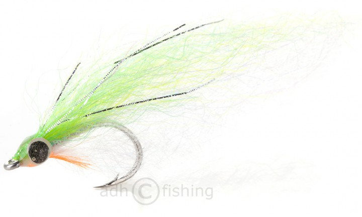 H2O Streamer - Slinky Fish chartreuse