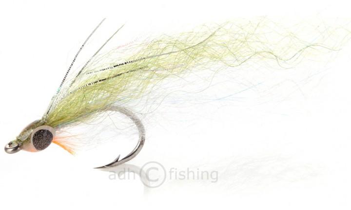 H2O Streamer - Slinky Fish olive