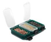 Spro G6 Transparente Fliegenbox Aufbewahrungsdose, 6 Fächer