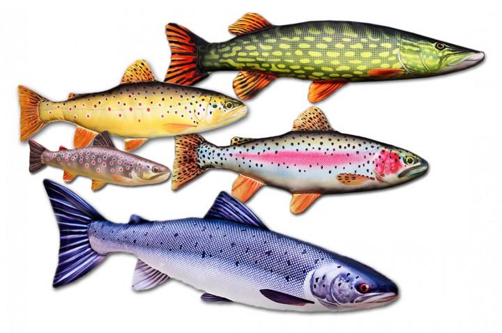 Kuscheltier Stofffische