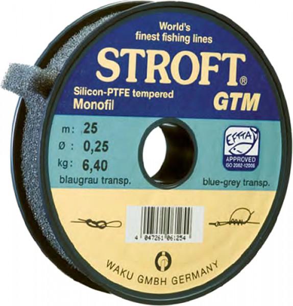 Stroft GTM Vorfachmaterial 25 m/Spule