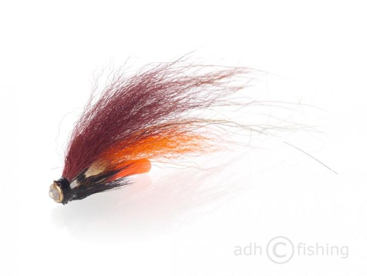 Fulling Mill Tubenfliege - brown and orange beschwert