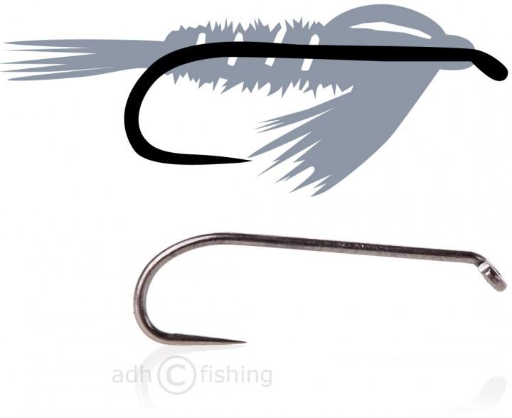 Tunca Expert Fliegenhaken TE30 Nymph ohne Widerhaken