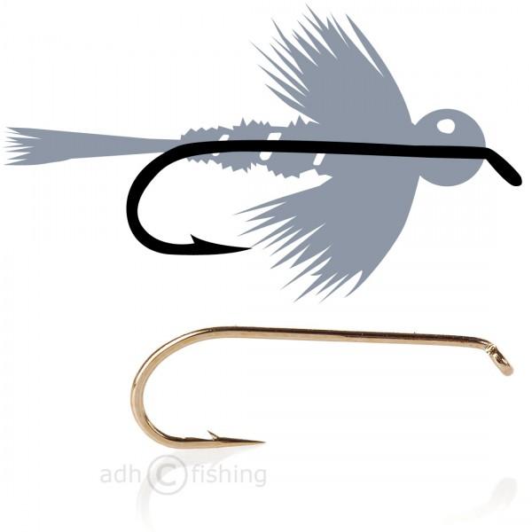 Tunca Fliegenhaken T40 Bead head nymph