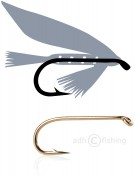 Tunca Fliegenhaken T50 Wet Fly