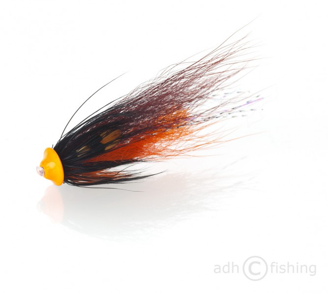 Fulling Mill Tubenfliege - Turbodisc brown and orange