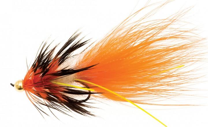 Mega Nobbler orange/schwarz