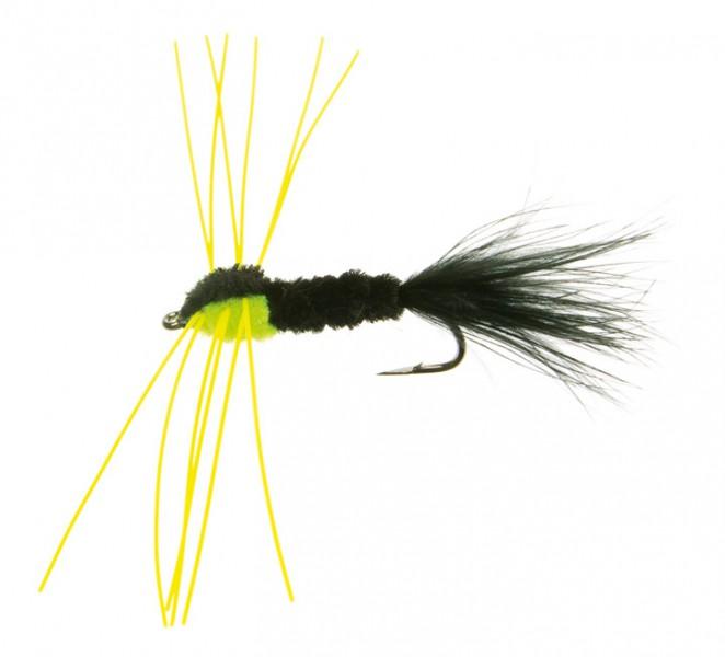 Montana Rubber Leg schwarz/grün