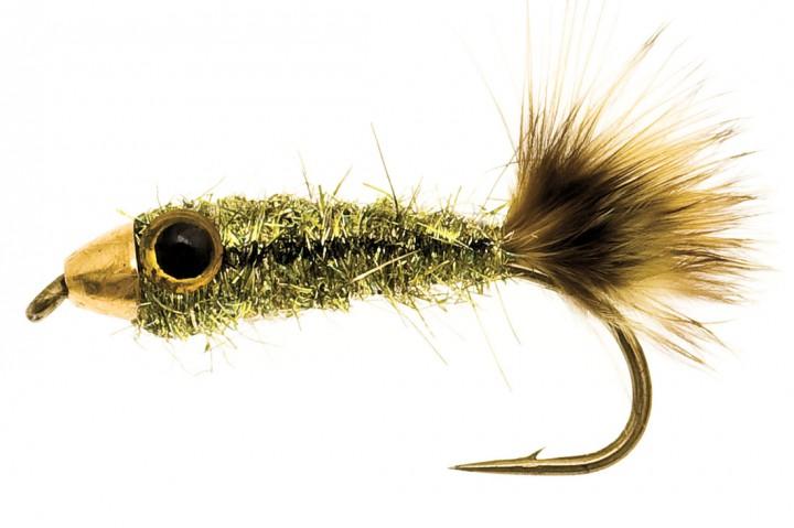 Pellet Fish oliv/schwarz