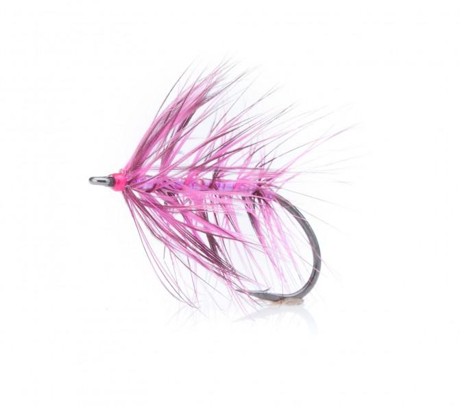 Meerforellenfliege Sveveren pink