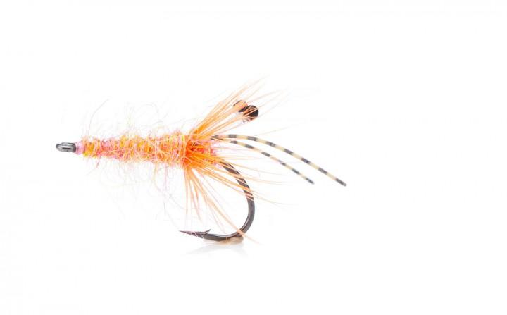 Meerforellenfliege Sveveren salmon pink