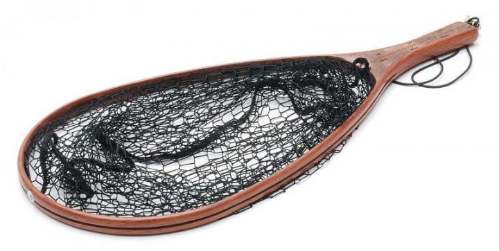 Vision Watkescher mit schwarzem Netz und dunklem Edelholz