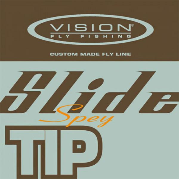 Vision Slide Spey Set Zweihandvollschnur + 4 Tips