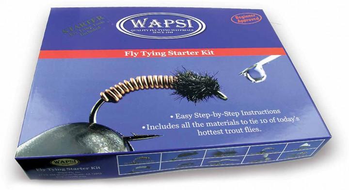 Wapsi Fly Tying Starter Kit Fliegenbinde-Set für Anfänger