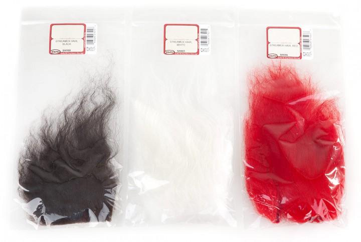 Wapsi Streamer Hair - Island Schaf Fellstücke