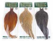 Whiting Hebert Miner Dry Fly Capes Bronze als ganzes oder halbes Cape