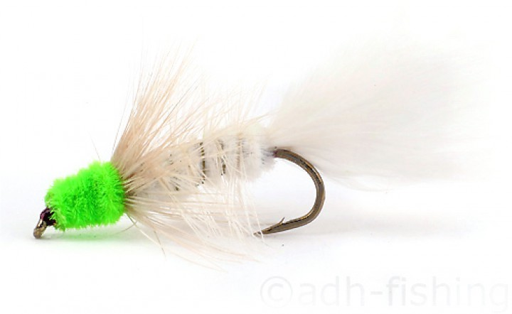 Fulling Mill - Wooly Bugger White/Green