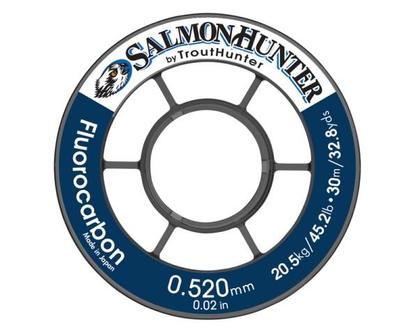 Trout Hunter Fluorocarbon Tippet Salmon/Saltwater 50m Spule