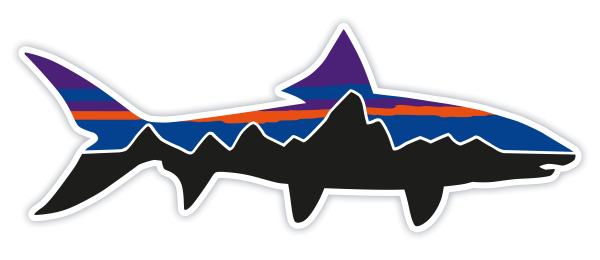 Patagonia Fitz Roy Bonefish Sticker