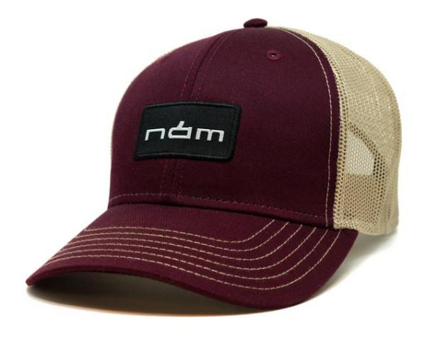 Nam Maroon Trucker Cap Kappe