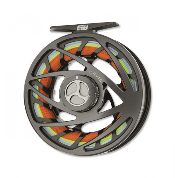 Orvis Mirage Fliegenrolle pewter pewter