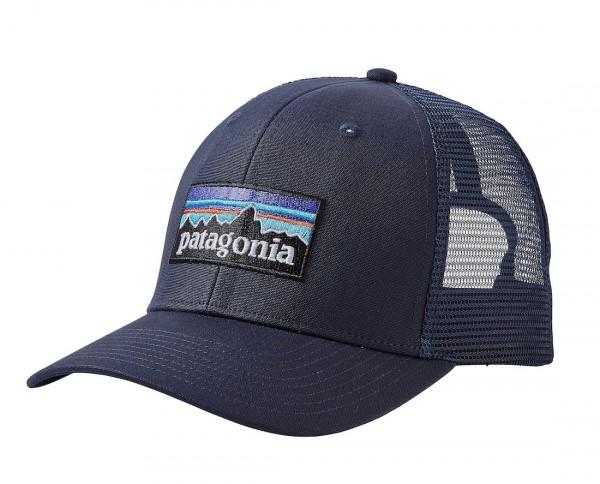 Patagonia P-6 Trucker Hat Kappe NVNV Navy Blue w/Navy Blue (NVNV)
