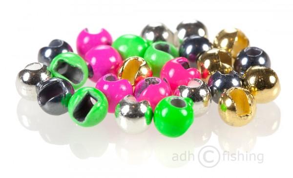Tungsten Perlen Beads geschlitzt slotted Kleinpackung