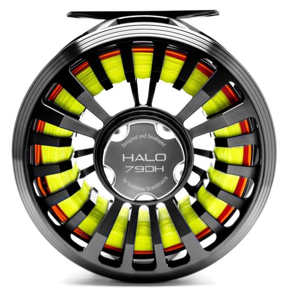 Guideline Halo DH Fliegenrolle black stealth