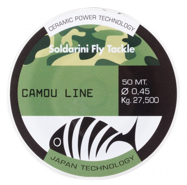 Soldarini Fly Tackle Camou Line Vorfachmaterial
