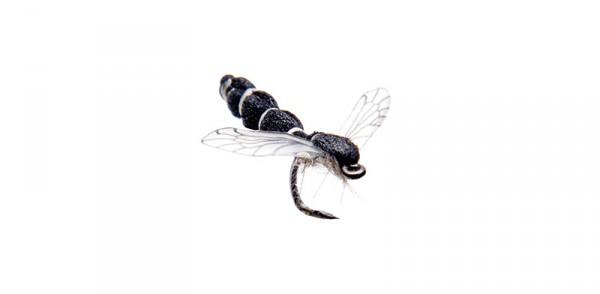 J:son Realistic Flies - Midge Adult black