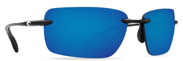 Costa Polarisationsbrille Gulf Shore Shiny Black (Blue Mirror 580P)