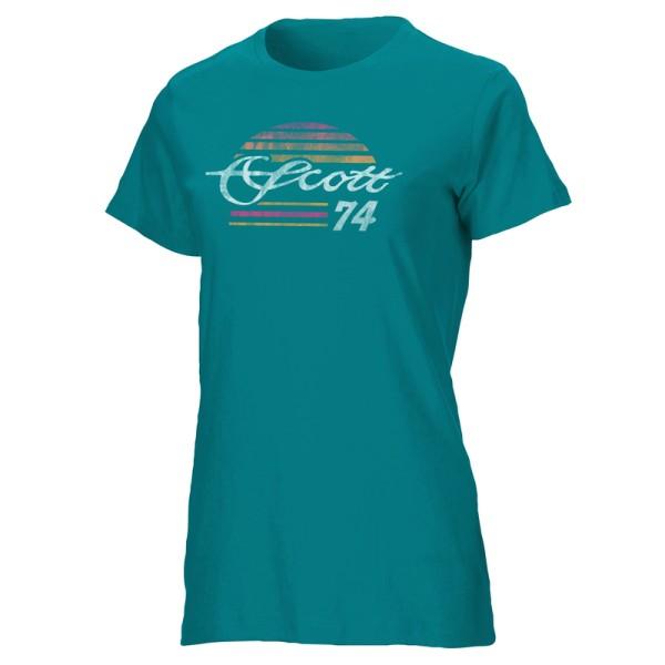 Scott Women's 74 T-Shirt teal XL