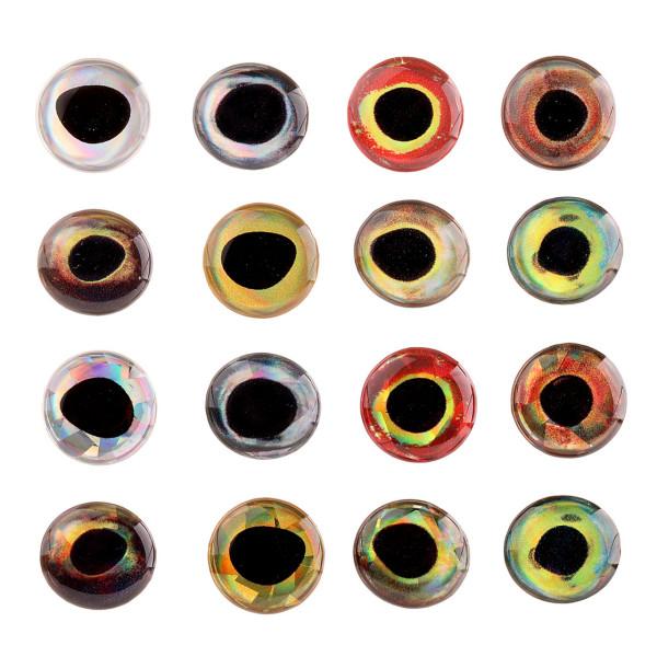 3D Epoxy Fish Eyes Augen